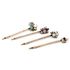 NEW! Jeweled Hair Clips